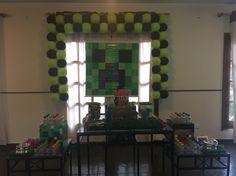 Decoração Minecraft Lu 7 anos