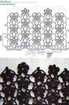 Diy Crafts - Creative Contents about DIY & Crafts, Knitting, Hairstyles, Beauty and more - Diy Crafts Crochet Flor De 8 Petalos Diy Crafts 5967270 Crochet Motifs, Crochet Diagram, Crochet Stitches Patterns, Crochet Chart, Stitch Patterns, Knitting Patterns, Crochet Flowers, Crochet Lace, Crochet Bobble