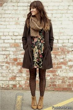 fall dress outfits 2017-2018 » DreamyDress