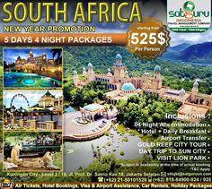 Satguru Indonesia - Travel Management Company, 15 : Hello travelers, siapkan liburan Tahun Baru sekaligus berpetualang bersama kami mengunjungi lokasi wisata di Afrika selama 5 hari dalam South Africa New Year Packages ke beberapa lokasi wisata menarik dengan harga terjangkau dan nyaman. Ikuti kesempatan terbatas ini. 👉Hubungi kami dan pesan sekarang juga! *harga sewaktu-waktu bisa berubah. -------------------------- 💳Dapatkan diskon dan promo khusus lainnya di bulan ini…