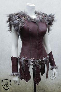 Warrior, Hunter, Amazon Leather Armour