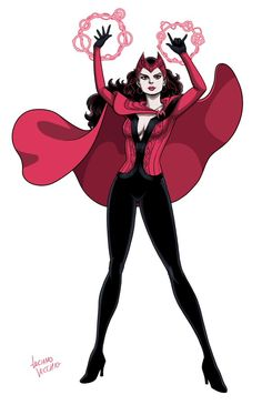 Scarlet Witch by LucianoVecchio on DeviantArt