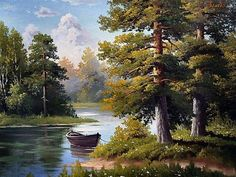 ideas painting oleo landscape for 2019 Scenery Paintings, Nature Paintings, Beautiful Paintings, Beautiful Landscapes, Fantasy Landscape, Landscape Art, Landscape Paintings, Landscape Photography, Scenery Pictures