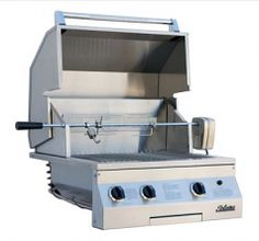 """27"""" LP Deluxe Infrared Built-In Grill with Rotisserie"""