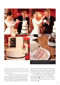 TheDAY - osobní svatební časopis. Vanilla Cake, Desserts, Photograph Album, Tailgate Desserts, Deserts, Postres, Dessert, Plated Desserts
