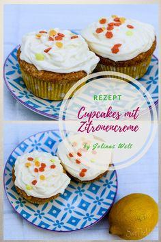 Zitronen Cupcakes sind lecker und schnell gebacken. Das einfache Rezept ist auch für Backanfänger leicht nachzubacken und die Zitronencreme ist schnell angerührt