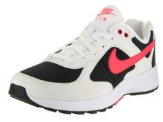 Nike Mens Air Icarus NSW White/Bright Crimson/Black Running Shoe Men US * Check this awesome product by going to the link at the image. (This is an affiliate link) Black Running Shoes, Running Shoes Nike, Nike Icarus, Nike Men, Sneakers Nike, Shopping, Bright, Yoga, Awesome