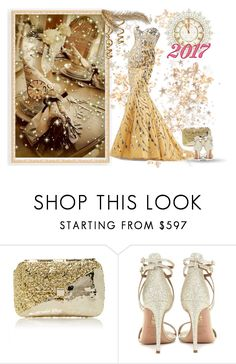 """Hi 2017!"" by sarahguo ❤ liked on Polyvore featuring Anndra Neen and Aquazzura"