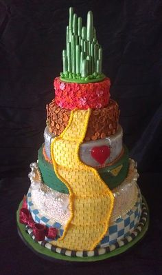 One of the best cakes I have ever seen!  EVER!!!