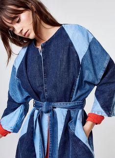 Patch kimono - View all - Outerwear - Ready to wear - Uterqüe United Kingdom