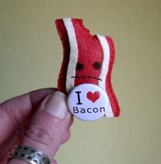 Irked Bacon Pincushion