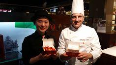 #SouthKorea #loves #italianfood #Pompi #tiramisu #strawberry and #chocolate