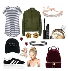 """Untitled #120"" by sdesir on Polyvore featuring Topshop, adidas, Nasaseasons, Kendra Scott, Oscar de la Renta, LULUS, Boohoo, Accessorize, NARS Cosmetics and MICHAEL Michael Kors"
