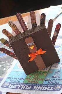 Thanksgiving crafts- I think I have all this on hand!!!! :)