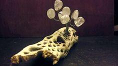 Nestto Creation & Design: Fragment of Ocotillo Cactus, Steel Wires, and Quartz Stones. Quartz Stone, Cactus, Stones, Decor Ideas, Simple, Design, Rocks, Rock