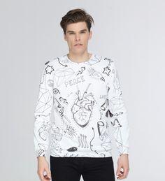 Love icons sweatshirt Miniaturen 2
