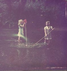 me and my sister in the river at Twisty Corners, location featured in the novel Missing Persons, My Sister, Storyboard, Thats Not My, Mystery, Novels, Drama, River, Concert