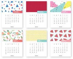 Kalendarz 2017 do wydrukowania