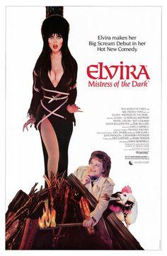 Elvira a Rainha das Trevas, 1988.