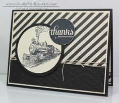 July 16, 2014 Stamp With Amy K:  Traveler Thank You – Stampin' Up!