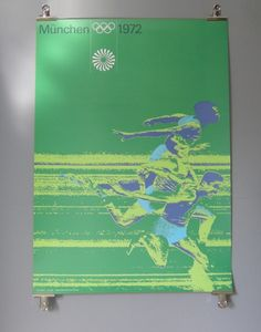 Designspiration — Otl Aicher 1972 Munich Olympics - Posters - Sports Series