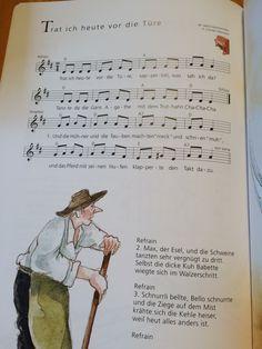 Trat ich heute vor die Tür (Bauernhoflied)