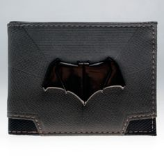 nice Wallet Batman Ben Affleck DC 2016 Superman Merch Loot  -  The unique faux lather wallet by your favourite fandoms. Size: ~ 85mm x 110mm x 15mm