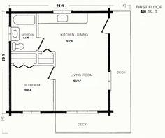 20 X20 Apt Floor Plan Starla Model D Floor Plan 20 X 20