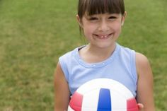 Fun volleyball activities for young children