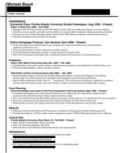 Core Functional Format Resume from i.pinimg.com