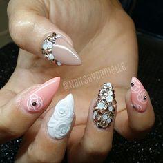 Instagram photo by nailsbydanielle #nail #nails #nailart