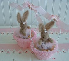 Bunny Cups!  From: http://myfaeriewindow.blogspot.com/search?updated-max=2010-05-05T21:35:00-04:00&max-results;=4