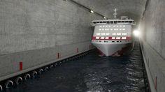 La Norvegia prepara il suo record: il primo tunnel per il passaggio delle navi - Corriere.it