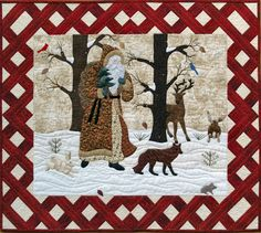 like this border and how it frames the quilt