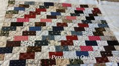 Mini quilt made by Betty G.  Longarmed by Le Ann Weaver of Persimmon quilts.