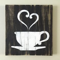 Kitchen Decor - Coffee Decor - Tea Decor - Coffee Cup - Tea Cup #cafe_kitchen_decor