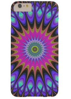 Star mandala barely there iPhone 6 plus case $49.65 *** star - mandala - floral - fractal - thorn - oriental - abstract - boho - eastern - spike - digital art - iPhone case