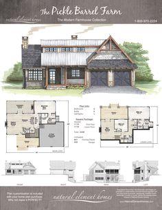 Pickle Barrel Farm | Natural Element Homes | Modern Farmhouse