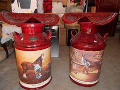 Clydesdale Cream Cans