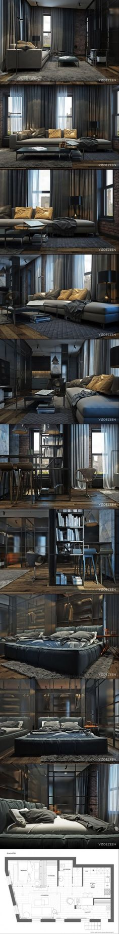 Apartment Brooklyn by YoDezeen