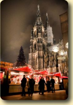 The Dom Cathedral Christmas Market ... one of seven beautiful major themed markets in Cologne, Germany.