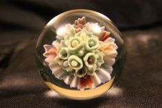 Jsg-justinsglass Abstract Flower marble handmade art/gift #Jsgjustinsglass #Glass
