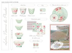 New! Lulu mint from Greengate From our brochure - appears in July 2013