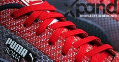 Get your shoes on in 3 seconds flat! No more knots, no more tying! Shoelaces redesigned.   Check out 'Xpand Lacing System' on Indiegogo.