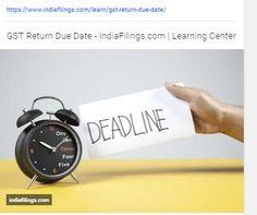 https://www.indiafilings.com/learn/gst-return-due-date/