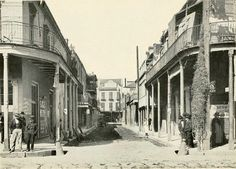 """The """"Italian Quarter"""" On Madison Street, Vieux Carre, New Orleans, Louisiana In 1912"""