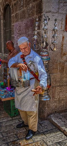 Street Vendor in Jerusalem