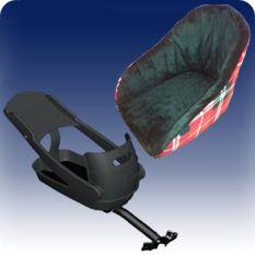 Buddyrider™ Bicycle Pet Seat   Purchase 109.