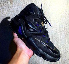 Nike LeBron 13 Black/Purple-Gold (1)