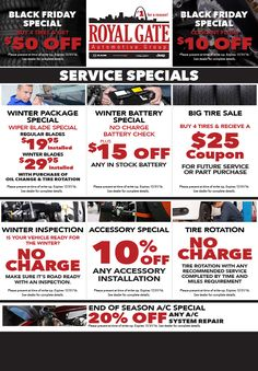Royal Gate Specials Buy Tires, Tires For Sale, Automotive Group, Gate, Gates